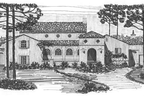 Mediterranean Style House Plan 3 Beds 2 Baths 3596 Sq/Ft