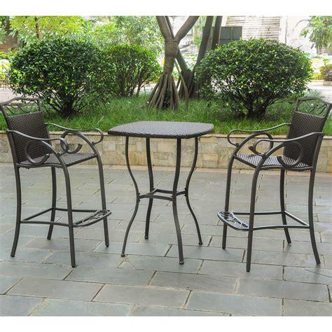 100 bistro set bar height outdoor patio ideas 3