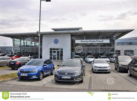 Volkswagen Car Store Editorial Photo