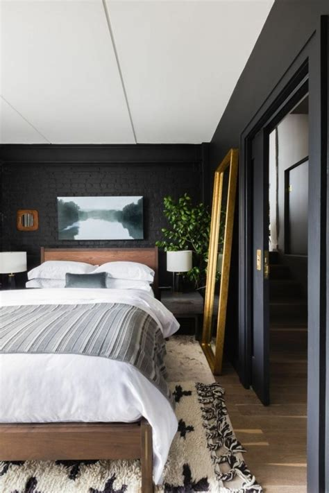 schlafzimmer  schwarz ist immer eine alternative zur