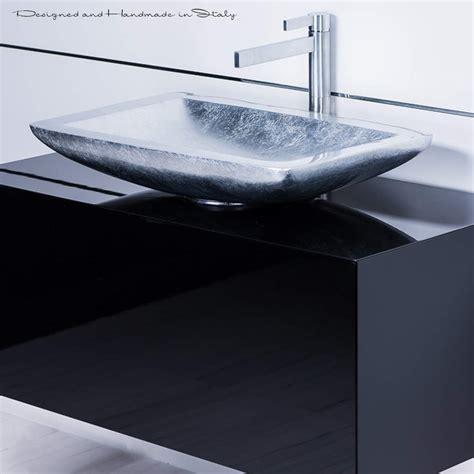 Black Modern Bathroom Sinks modern black bathroom vanity with vessel sink combo