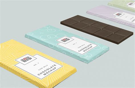 All free mockups include smart objects for easy edit. Free Chocolate Bar Mockup | Mockuptree