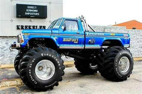 1979 bigfoot monster truck 18 1979 ford f 250 bigfoot 1 full size tires denise