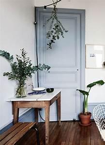 bleu gris couleur de l39annee 2017 dulux valentine deco With peindre une entree et un couloir 0 une entree et un couloir contrastes home by marie