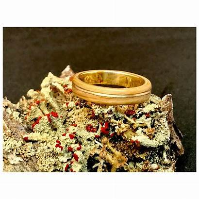 Rings Wood Ring Engagement Wooden 18k Solid