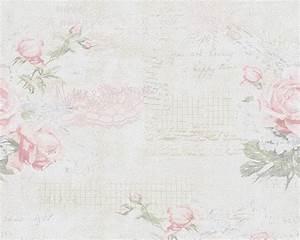 Tapete Blumen Modern : tapete landhaus blumen creme rosa gr n djooz 95667 1 ~ Eleganceandgraceweddings.com Haus und Dekorationen