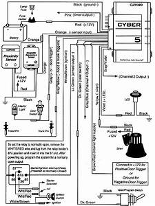 clifford cyber 5 With clifford alarm wiring diagram