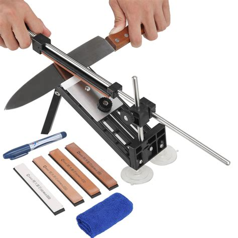 knife sharpening kitchen professional sharpener angle system stones knives sharpeners bar cutlery fix