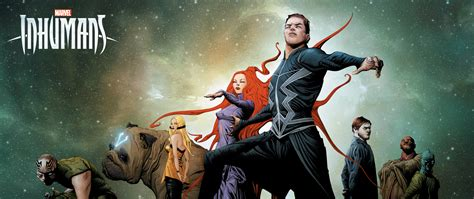 marvel inhumans artwork poster hd  wallpaper