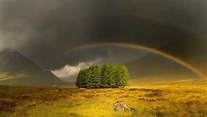 Beautiful rainbow scenery HD wallpapers #6