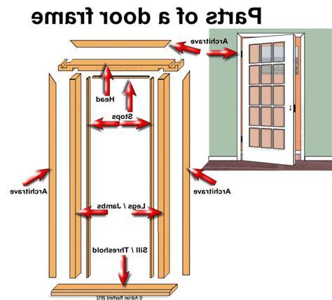 parts of a door exterior door frame parts door frame replacement parts