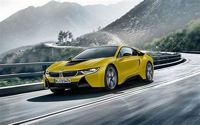 Frozen 4k I8 Bmw Edition Yellow Wide