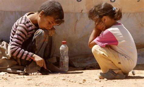 Niños necesitados en Siria se cuadruplican en un año