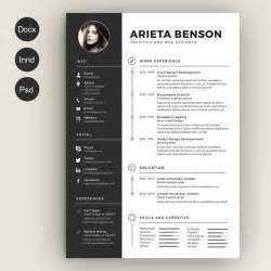 curriculum vitae photoshop templates 28 minimal creative resume templates psd word ai free premium templateflip