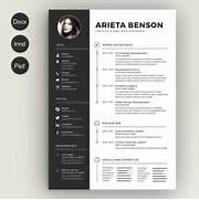 Clean Resume Cv Free Creative Resume Cv Templates Xdesigns Free Creative Resume 28 Free CV Resume Templates HTML PSD InDesign Web Graphic Creative Resume Templates Retro Style Resume Clean Creative Resume