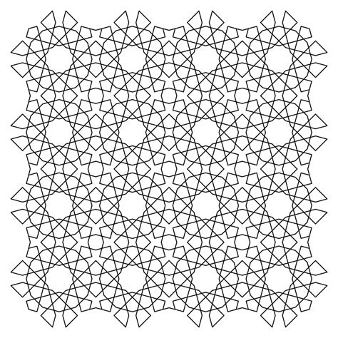 Free Ice Cream Tessellation Coloring Pages
