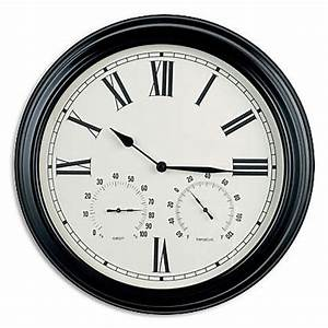Wall clock with temperature and humidity india for Wall clock with temperature and humidity india