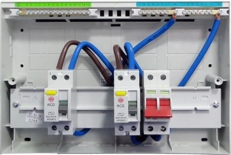 Shed Consumer Unit Wiring Diagram