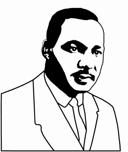 Luther Martin King Coloring Pages Jr Biography