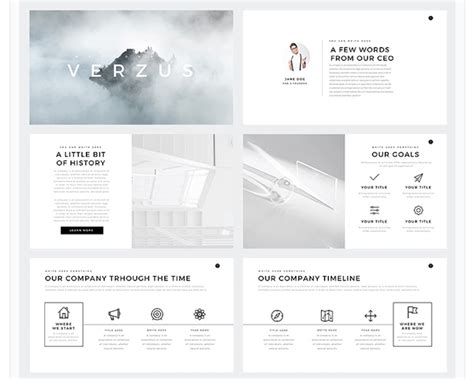 Minimalist Powerpoint Template Free 2 by Free Minimal Powerpoint Template Create Your Ppt Easy