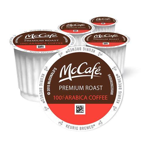 mcdonalds coffee  cups mccafe premium roast keurig office