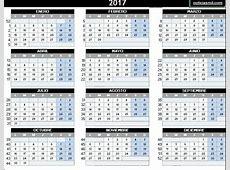 Calendario 2017 – Calendarios 2017 para Imprimir