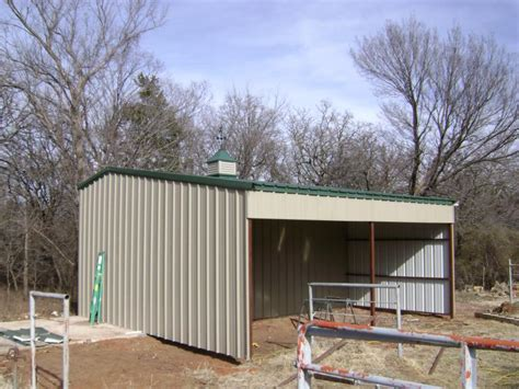 Loafing Shed Kits Oregon by Metal Loafing Shed Oklahoma
