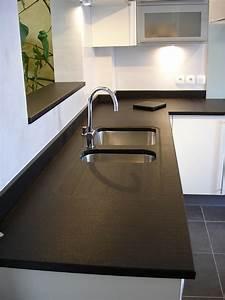 Levier De Cuisine : evier cuisine granit noir evier de cuisine noir 14 rouen ~ Preciouscoupons.com Idées de Décoration
