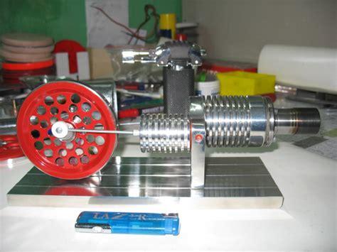 Модель низкотемпературного двигателя Стирлинга