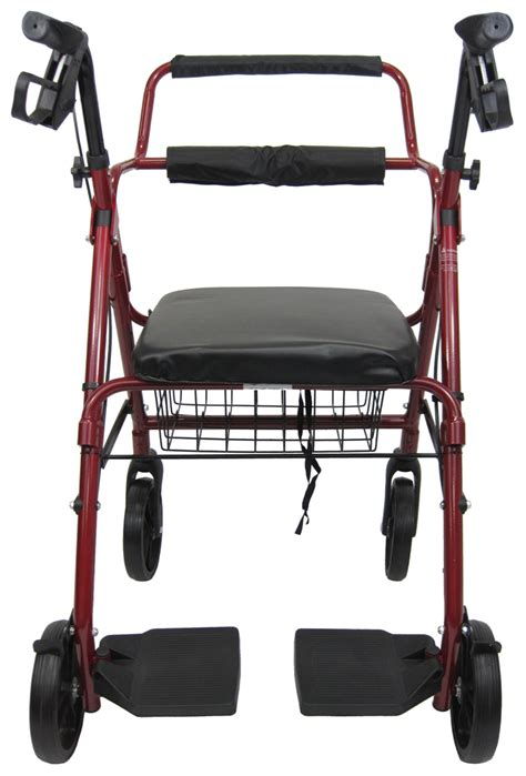 wheelchair assistance invacare four wheel rollator