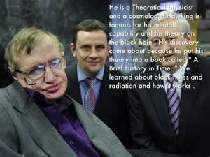 Stephen Hawking by Seth Dunnuck