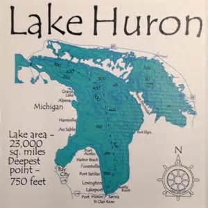 lake huron detail up