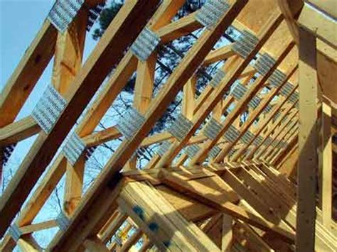 Doug Robinson House Framing  Floor Joists
