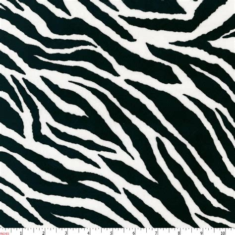 black and white zebra minky fabric by the yard black fabric carousel designs