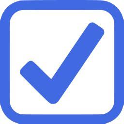 royal blue checked checkbox icon free royal blue check