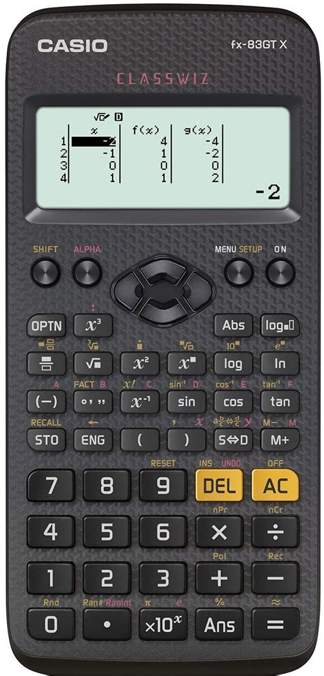 Casio FX-85GT PLUS Black Solar Scientific Calculator