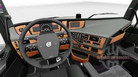 darkline exclusive interior  volvo  euro truck
