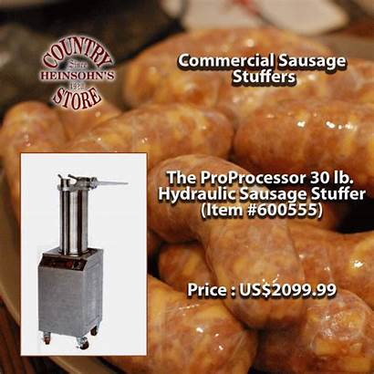 Sausage Commercial Sausages Stainless Steel Stuffer