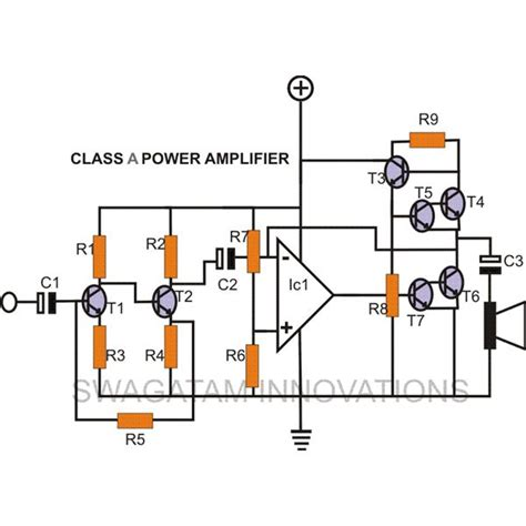 How Make Diy Class Amplifier Simple Construction