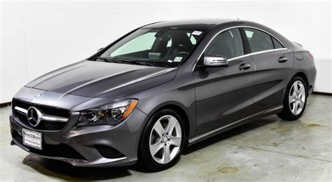 We analyze millions of used cars daily. 2016 Mercedes-Benz CLA 250 4MATIC Coupe | Mountain Gray Metallic U15889