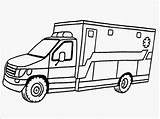 Ambulance Coloring Pages Printable Drawing Realistic Template Vehicle Hospital Driver Drawings Sketch Line Truck Getdrawings Templates Getcoloringpages Clipartmag Library Clipart sketch template