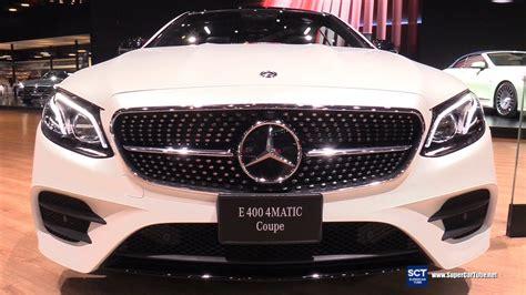 2018 Mercedes E400 4matic Coupe Edition 1