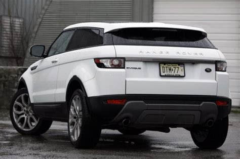 Rear View Of 2015 Land Rover