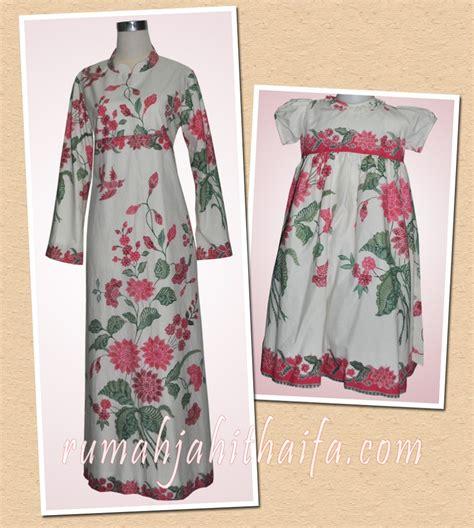 gamis batik  dress batik anak  kain batik encim ibu
