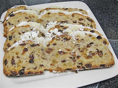Kuchen Nach by Christstollen Nach Oma Martha Essen Trinken