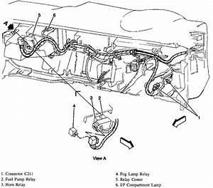 where is the location of the headlight relay on a 1996 gmc With blazer relay wiring kit