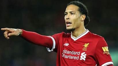 Liverpool Dijk Van Virgil Wallpapers Knee Goal