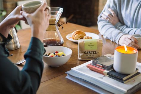 They serve a 12oz from the clover in a ceramic cup and pair it with something to eat. Cartel Coffee Lab's Subscription Service Starts March 2 at 11:00 A.M. - coffeetalkMAGAZINE