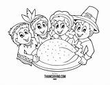 Thanksgiving Coloring Printables Printable Turkey Fall History Colors Boys Themed Holiday Celebrate sketch template