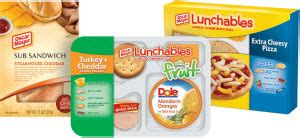 Kitchen Kraft Directors by New Food Products Oscar Mayer Lunchables Now Packs A